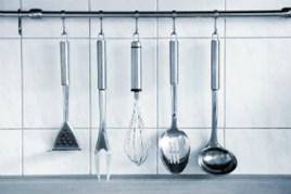 Home set di utensili da cucina pezzi silicone utensili legno per